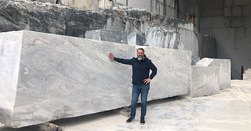Italian White Marble – Art for Your Countertops