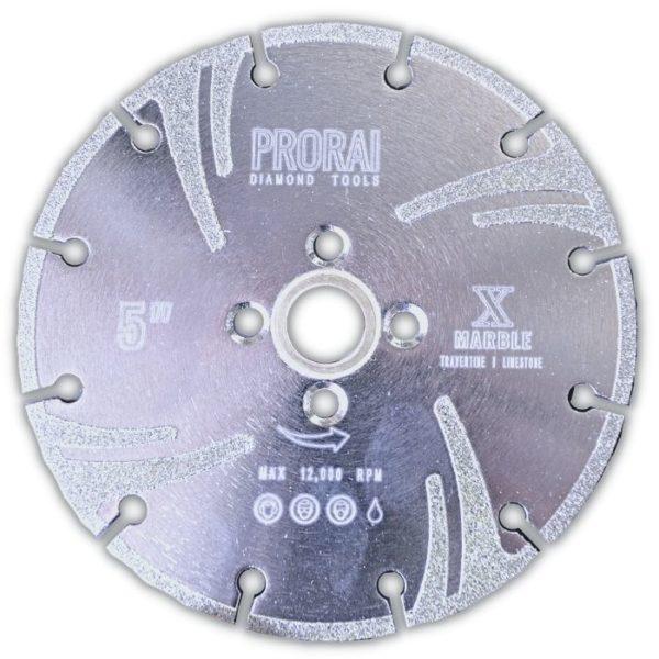 """ProRai Diamond Tools Marble Blade 5"""""""